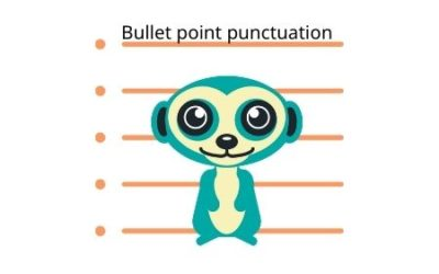 Bullet Point Punctuation: Can You Punctuate a List?