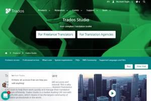 Trados Studio 2021 CAT tool